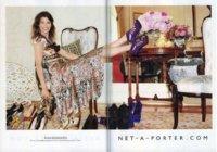 Net-a-porter nos pone los dientes largos en su campaña con Hanneli Mustarpata