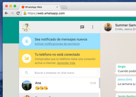 como conectar whatsapp web desde iphone