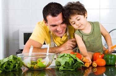 Algunos consejos para incorporar más vegetales a la dieta infantil