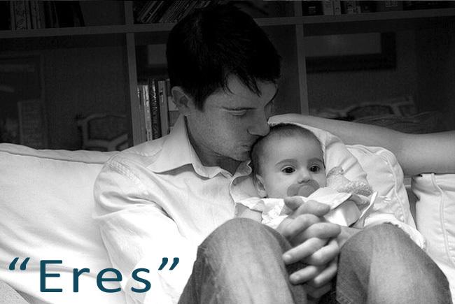 Eres es un poema para papá en el Día del Padre
