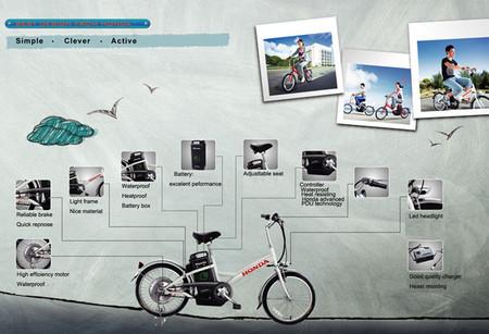 Características Honda Kushi