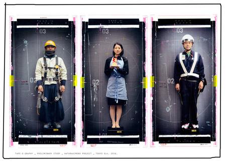 'Hatarakimono Project'de K-Narf, retratos de los trabajadores de Tokyo a caballo entre la fotografía y el bricolaje
