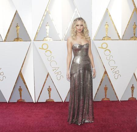 Alfombra Roja Oscar 2018 Jennifer Lawrence Dior