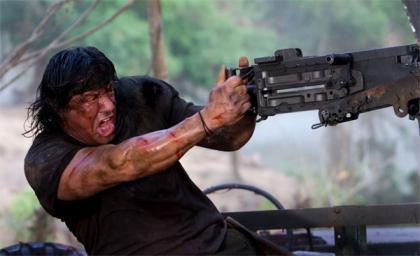 La estadística de las películas de Rambo