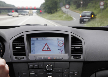 Opel Sistema Car to Infraestructure