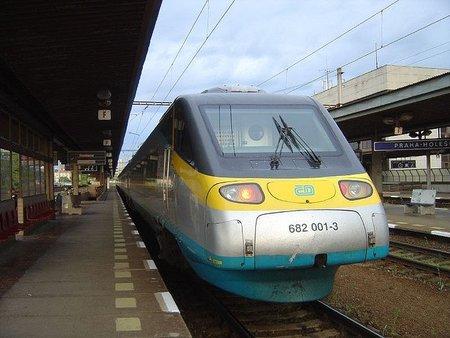 República Checa en tren