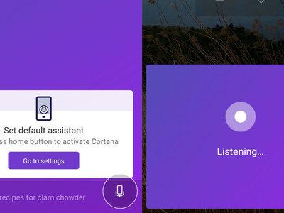 Cortana ya se puede configurar como tu asistente por defecto