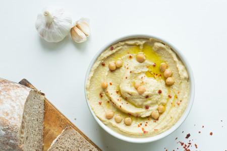Hummus con ajo