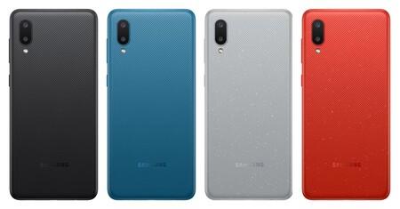 Samsung Galaxy A02, lo más básico del fabricante incluye gran batería con un diseño reconocible