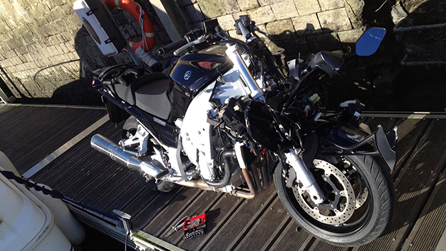 Yamaha FJR1300 Lolo MotoJournal