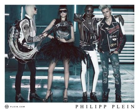 Lucky Blue Smith Philipp Plein Spring Summer 2016 Campaign 005
