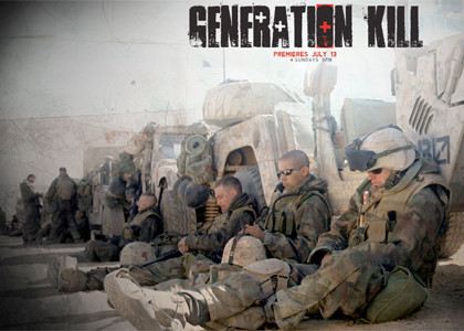 Generation Kill, del creador de 'The Wire', este domingo en HBO