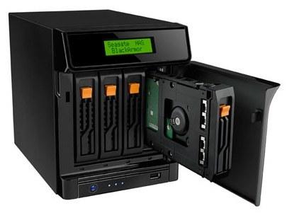 Seagate BlackArmor NAS 440, hasta 8 TB de capacidad en formato NAS