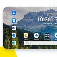Microsoft Launcher para Android se prepara para añadir el tema oscuro, el modo horizontal y más novedades