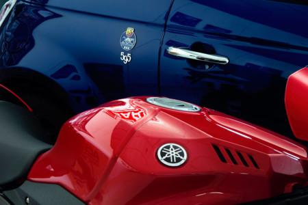 "El coche de Jorge Lorenzo se llama Abarth 595 Yamaha Factory Racing ""99 Limited Edition"""