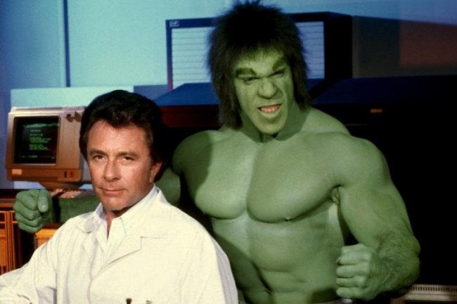 La Masa - Bill Bixby y Lou Ferrigno