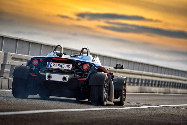 KTM X-Bow GT Trasera