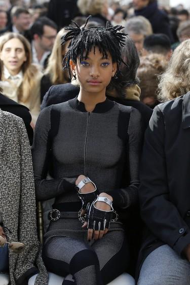 La nueva embajadora de Chanel tiene sólo 15 años y responde al nombre de ¡Willow Smith!