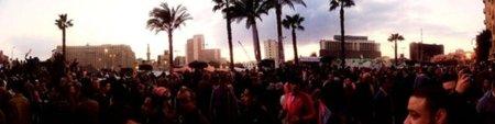 Los revolucionarios que tumbaron a Mubarak apoyan la revolución española: 'podemos construir un mundo mejor'