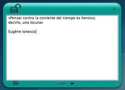 Secret NotePad: Un bloc de notas con contraseña en formato widget