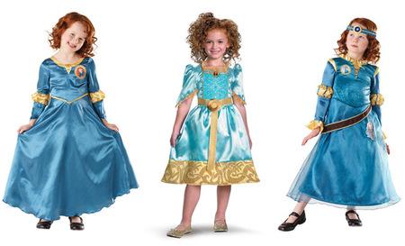 Disfraz Brave Mérida en ebay