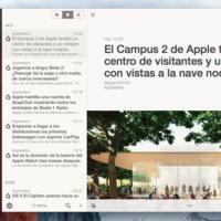 Reeder lanza la beta pública de su tercera versión para OS X Yosemite y El Capitan