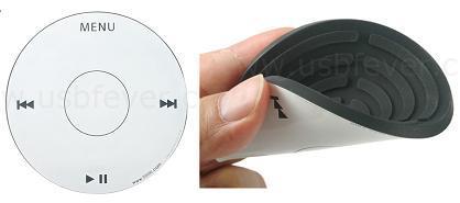 Posavasos inspirados en los iPods