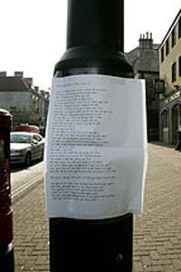 Un poema para resolver un crimen