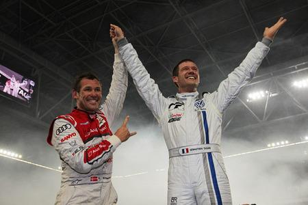 Romain Grosjean y Sebastien Ogier formarán equipo en Race of Champions