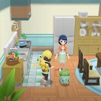 Cómo obtener a los iniciales de primera generación en Pokémon Let's Go