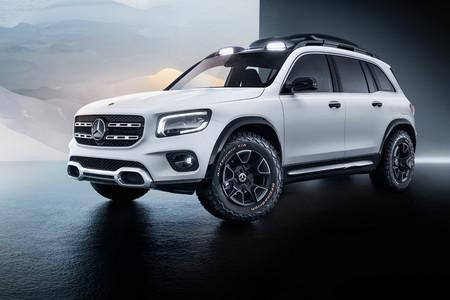 Mercedes-Benz Concept GLB: un prototipo SUV de 7 plazas para cubrir el hueco entre GLA y GLC