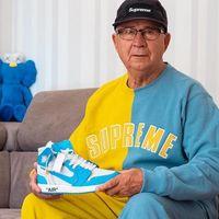 Este abuelo es una estrella del streetwear en Instagram y todo gracias a su nieto