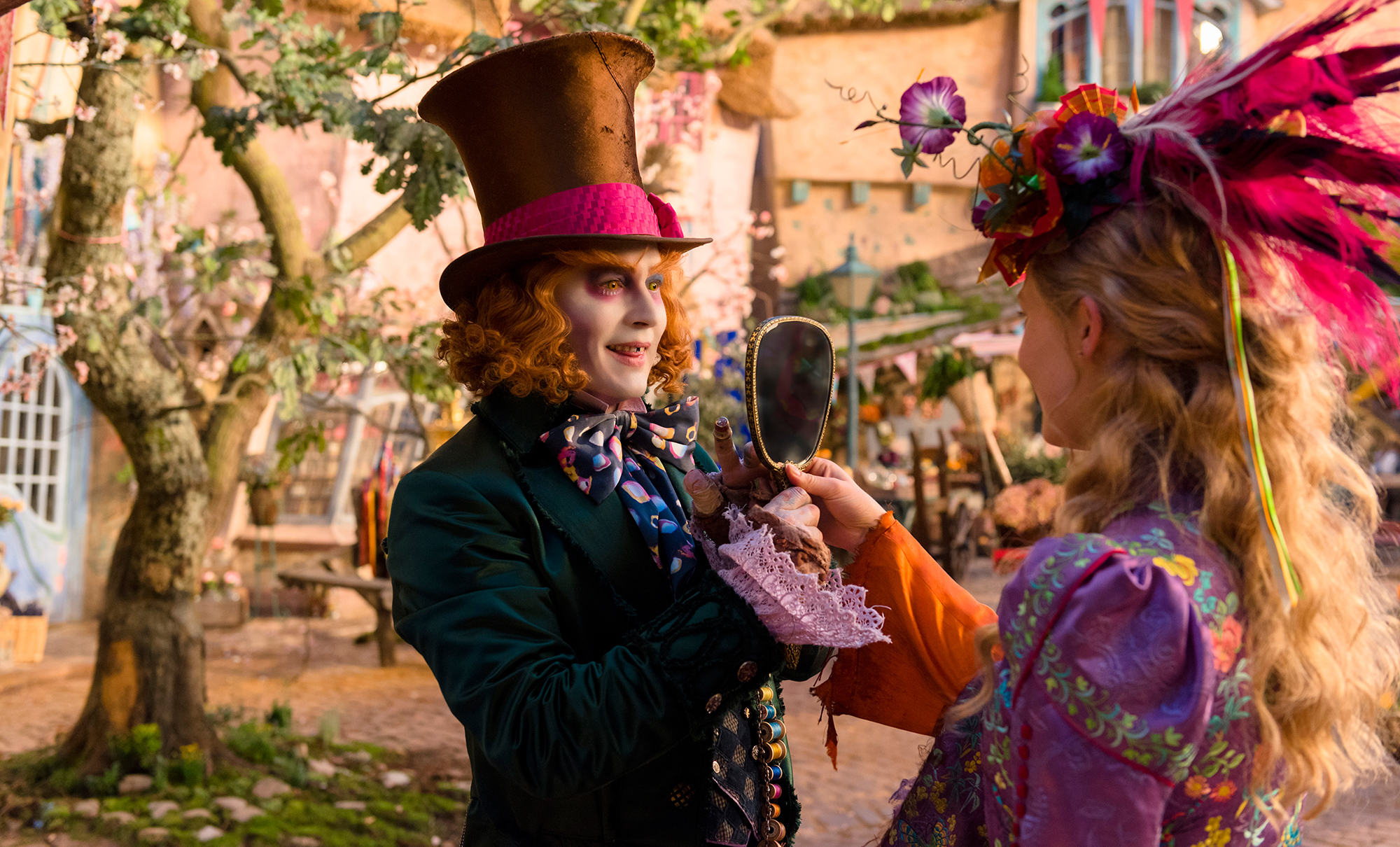 Vestuario película 'Alicia a través del espejo'