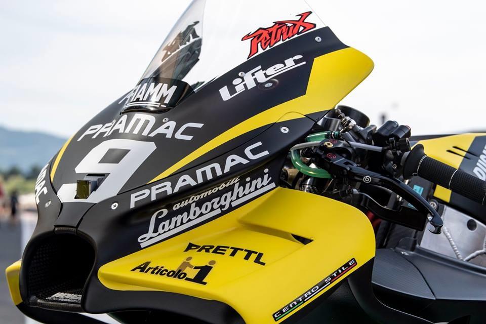Foto de Alma Pramac Racing y Automobili Lamborghini para el Gran Premio de Italia 2018 (9/14)