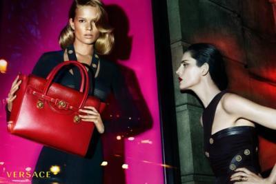 El escaparate de Versace para su campaña Otoño-Invierno 2014/2015