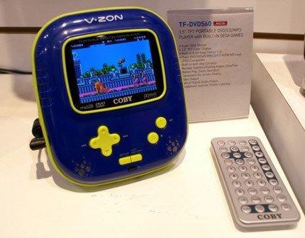 Player DVD y consola retro