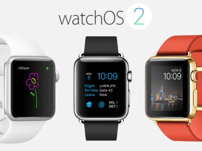 Fondos de pantalla para Apple Watch en watchOS 2