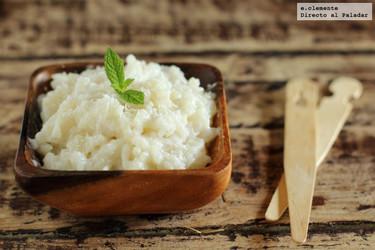 Receta de arroz con leche de coco