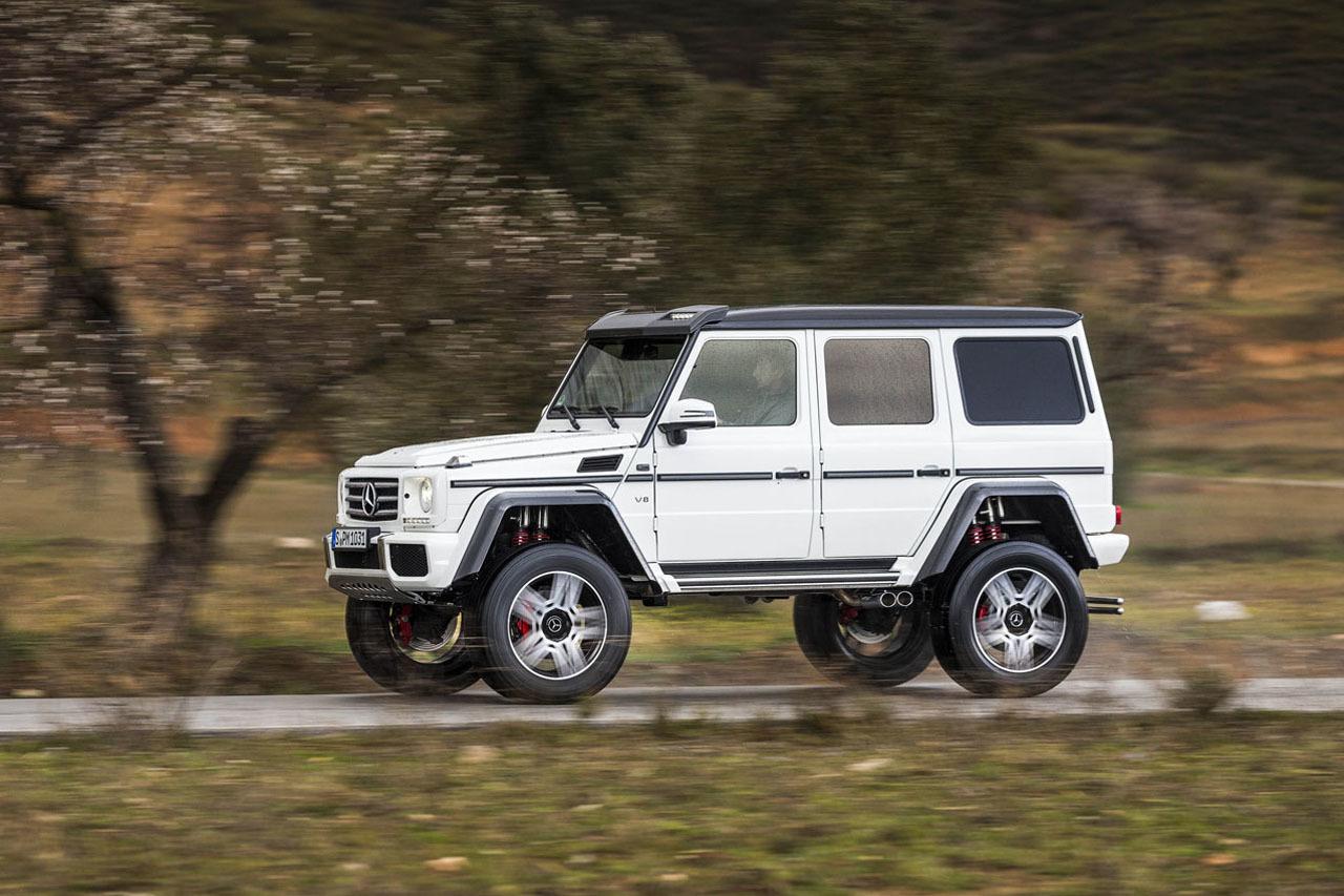 Foto de Mercedes-Benz G 500 4x4², toma de contacto (99/127)