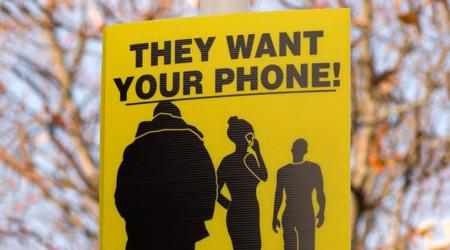 Quieren tu teléfono