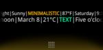 minimalistic-text