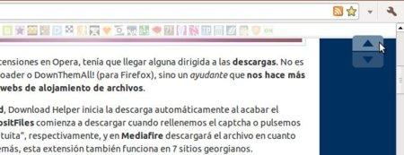 Vuelve al principio de cualquier página al estilo Tumblr en Chrome