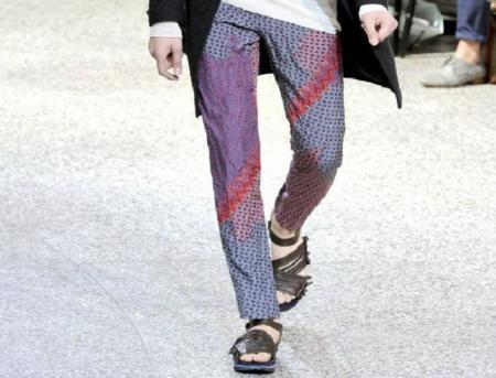Moda para hombres: por unos pantalones vistosos