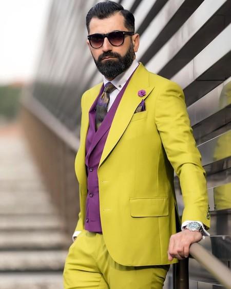 Alerta Amarilla Pitti Uomo Yellow Looks Street Style 2020 05
