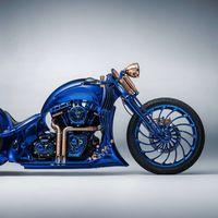 Diamantes, oro y 2.500 horas de trabajo: así es la Harley-Davidson más cara de la historia