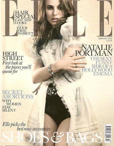 El look sensual y romántico que se lleva en primavera, por Natalie Portman en Elle