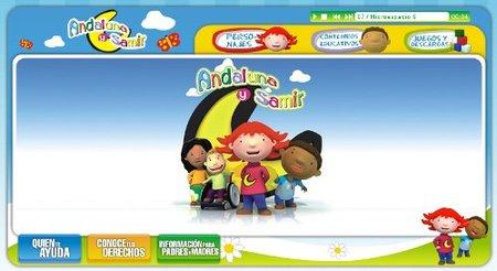 Andaluna y Samir, excelente web para la educación en valores