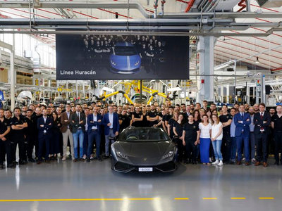 Lamborghini Huracán se convierte en best seller: 8,000 unidades en 3 años
