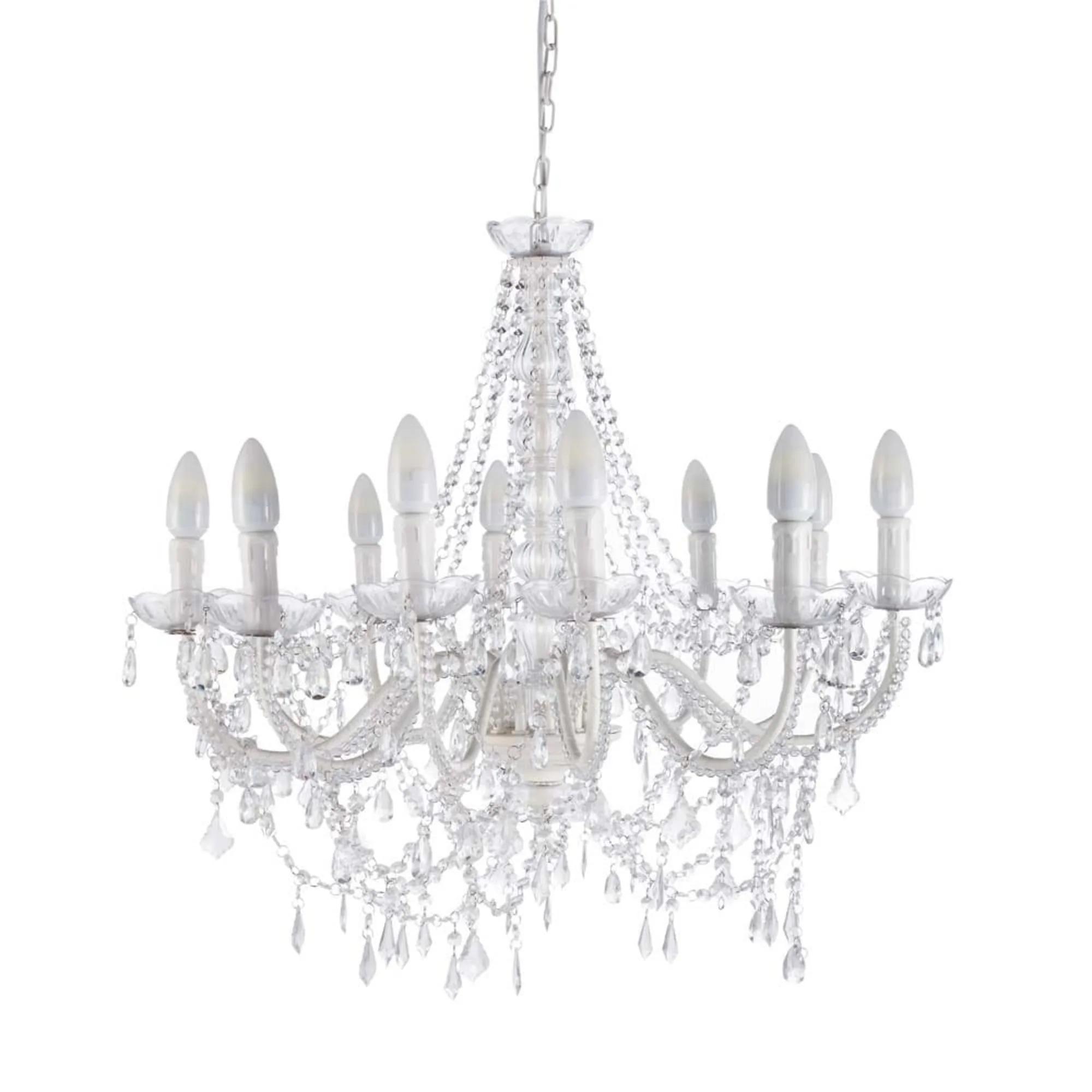 Esta suntuosa lámpara vestirá el techo de tu salón o sala de estar con gran elegancia.