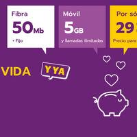 Llamaya estrena nuevo combinado con fibra, fijo y móvil por 29 euros al mes para siempre